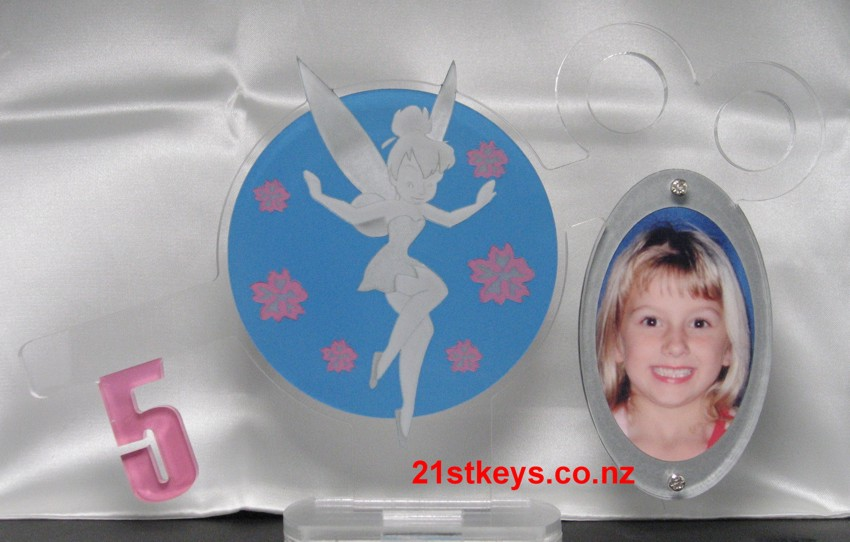 Silver Fairy 5th Birthday Picture Key