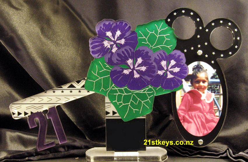Pacific Purple Flower Picture 21st Key