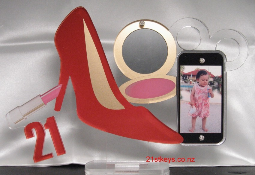 Stiletto Makeup Smartphone 21 Birthday Key