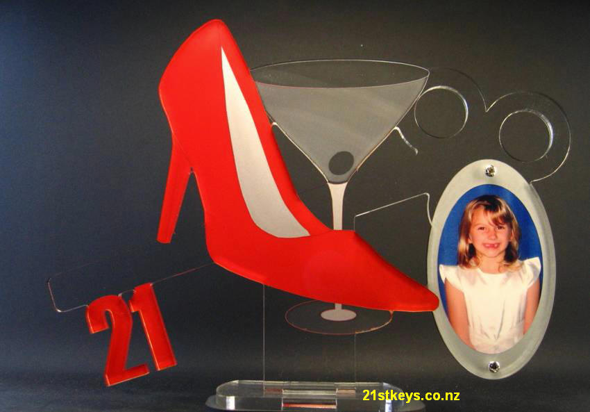 Stiletto Martini Glass Picture Key